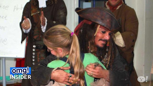 Why Johnny Depp Always Carries His Captain Jack Sparrow Costume