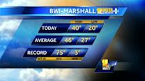 Cold temperatures sweep through Maryland