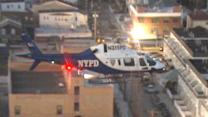 NYPD takes to air to combat looters in storm-ravaged areas