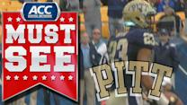 Pitt's Tyler Boyd Lays Out For Diving Catch | ACC Must See Moment Of 2013 Candidate