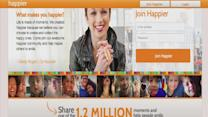 Social network promotes Happiness