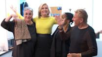 Diane Sawyer Reflects on the Anchor Chair and the Possibilities of the Future