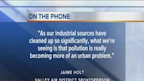 Ozone threat subsides in Kern County