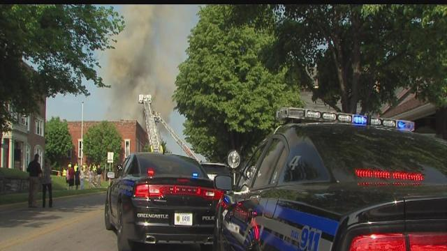More than half dozen businesses damaged in fire