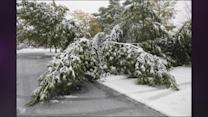 Snowstorms And Tornadoes Bring Damage Across Plains