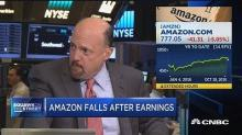 Cramer: Amazon will be a 'buy' on Monday despite today's sell-off