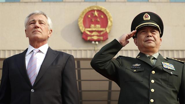 U.S. and Chinese Defense Ministers Trade Barbs