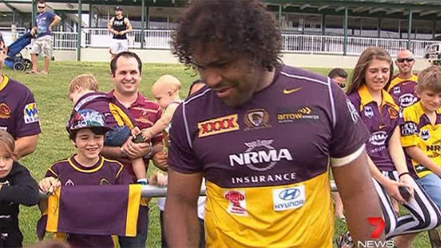 Ipswich embraces Broncos