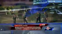 Captured: Bombing suspect taken into custody