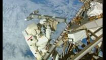 Astronauts venture outside the ISS for seven-hour spacewalk