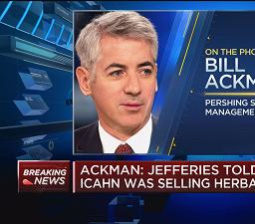 Bill Ackman: Carl Icahn looks to sell Herbalife because 'he knows this is toast'