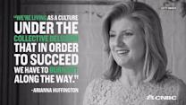 What is Arianna Huffington's secret to success?