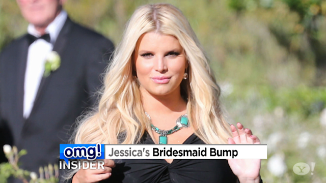 Always a Bridesmaid! Jessica Simpson Walks Down the Aisle Again