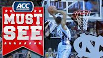 UNC's J.P. Tokoto Throws Down Beautiful Alley-Oop | ACC Must See Moment