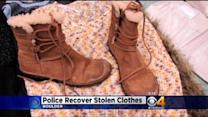 Police Hope To Return Stolen Women's Clothing To Rightful Owners