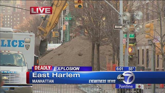 East Harlem debris cleared in search for cause