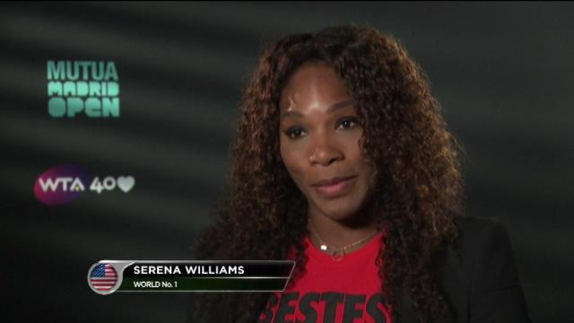 Madrid - Serena Williams, 50e rugissante