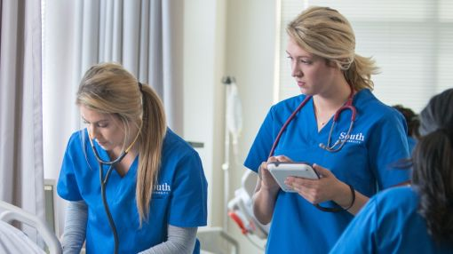 There's a different way to earn a nursing degree.