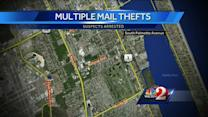 Police make arrest in mail thefts