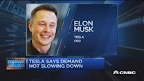 Tesla shares jump on strong delivery guidance