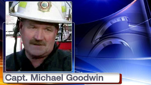 Philadelphia Fire Captain Michael Goodwin to get posthumous promotion