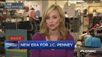 JCP's new CEO steps up