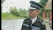 Police stop lorry containing 15 people in Somerset