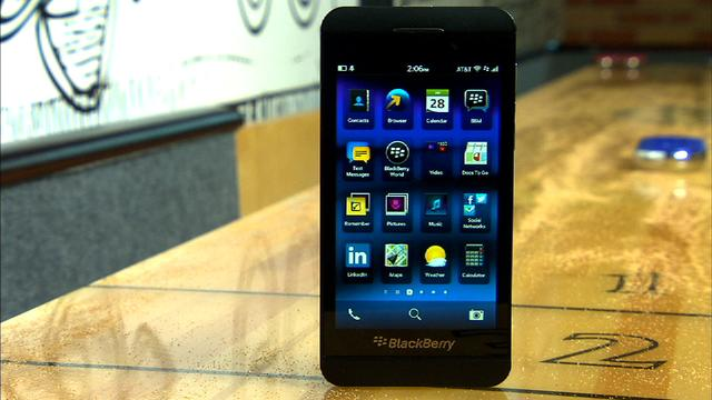 BlackBerry Z10: Not your father's BlackBerry