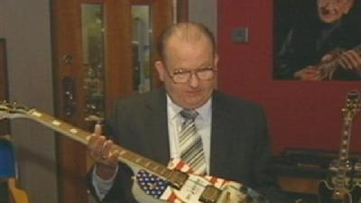 Son Of Guitar Great Les Paul Honors 9/11 First Responders