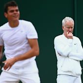 McEnroe calls time on Raonic role