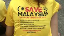 Second day of anti-government protests in Malaysia