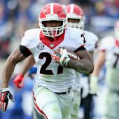 Georgia's Nick Chubb ruled out vs. Tennessee