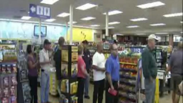Winning powerball tickets sold
