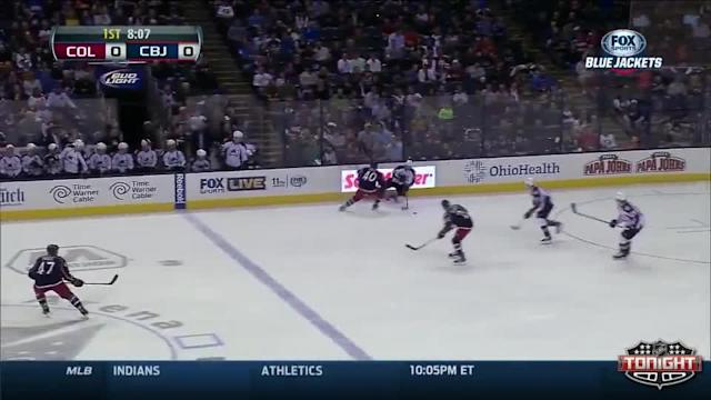Colorado Avalanche at Columbus Blue Jackets - 04/01/2014