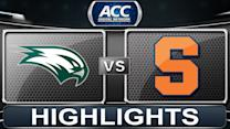 Wagner vs Syracuse | 2013 ACC Football Highlights