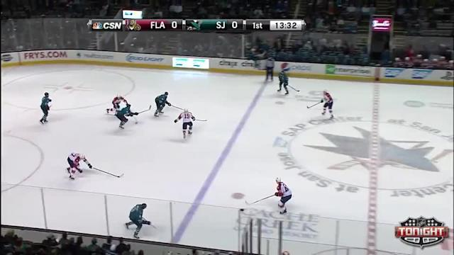 Florida Panthers at San Jose Sharks - 03/18/2014