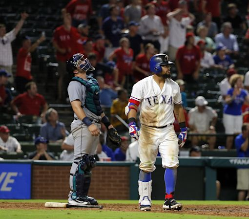 Rougned Odor's walk-off homer gives Rangers yet another comeback win