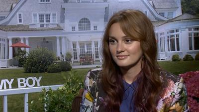 Leighton Meester: Making 'That's My Boy' Was 'Unbelievable'