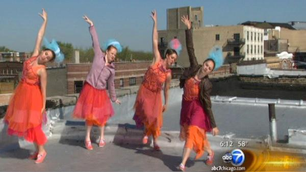 Rooftop Dance Series Waltzes Across Chicago