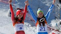 Gold medal tie historic in multiple ways