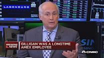 AmEx President Gilligan dies following illness