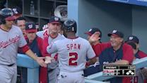 Span's two homers