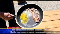 Is it hot enough to fry an egg in Borrego Springs?