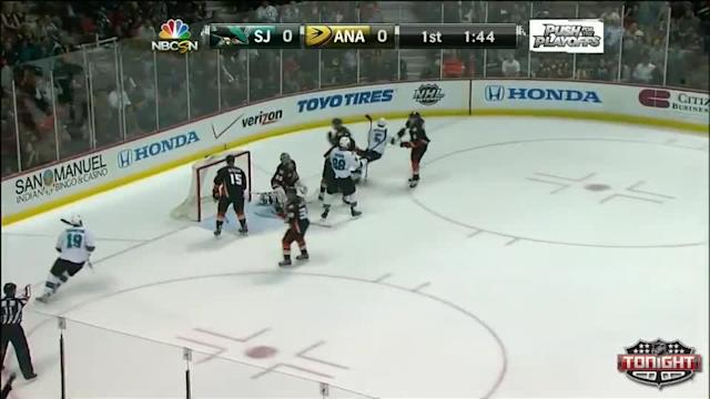 San Jose Sharks at Anaheim Ducks - 04/09/2014