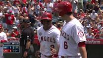 Aybar scores after errant throw