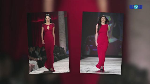 WOWtv - Kendall and Kylie Jenner Wow in Gorgeous Red Gowns to Fight Heart Disease