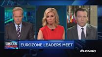 Euro zone leaders meet, no new proposals