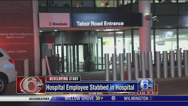 Einstein employee stabs co-worker in hospital in Olney, police say