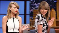 Taylor Swift on Her Perfect Post Gym Looks with Seth Meyers!