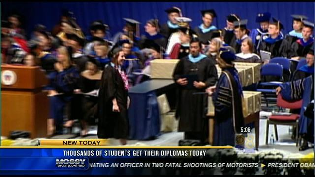 Thousands of SDSU students graduate Friday